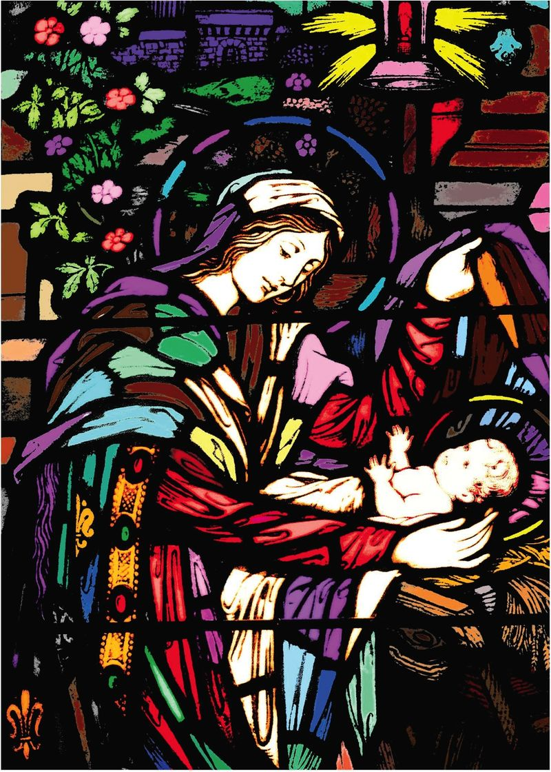 Good Shepherd, Lexington, Nativity Window