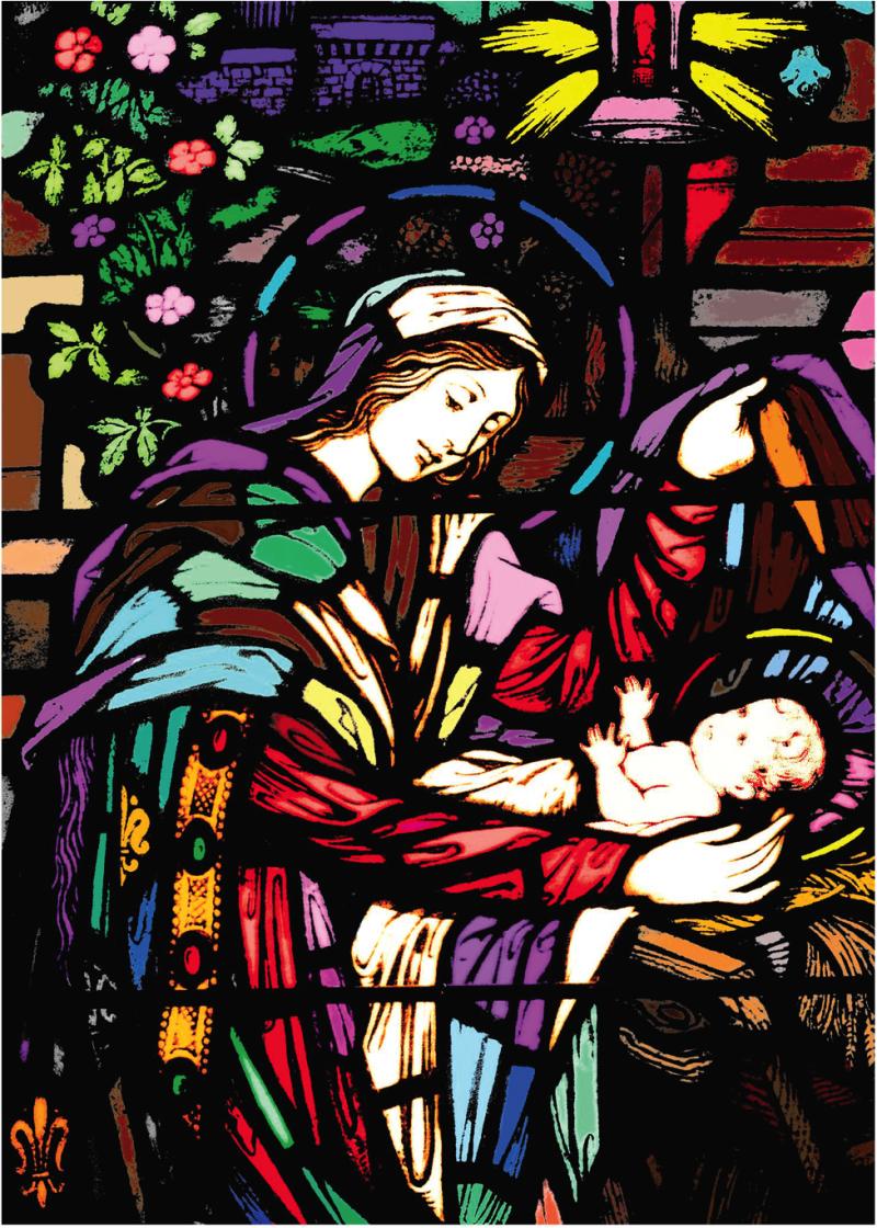GS Nativity Window