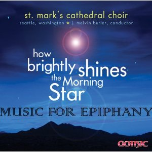 St Marks Seattle Choir Album Epiphany