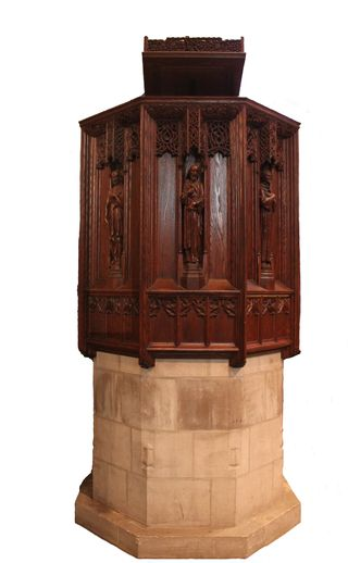Pulpit with base