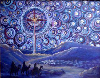 Advent Starry Night 2