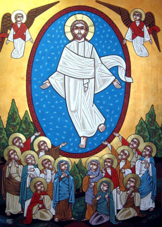 Ascension Coptic Icon