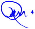 Ron Short Blue Sig Cropped