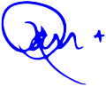 Ron Signature No Background