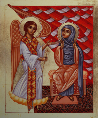 Annunciation-yordanka-karalamova